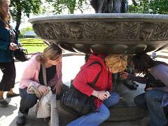 Královská zahrada - Zpívající fontána